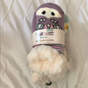Muk Luks Baby Cabin Socks
